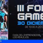 Vuelve el Foro Gamer de Tenerife a Los Realejos