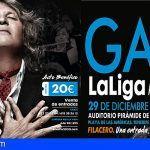 Pirámide de Arona acoge la Gala Benéfica LaLiga Promises con José Mercé y la Orquesta Juvenil de Tenerife