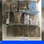 Detienen a una mujer con 19 kilos de hachís en el maletero de su vehículo en Puerto de la Cruz