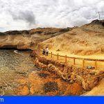 Concluyen en Arico las actuaciones del mirador de la Cruz y playa de La Caleta