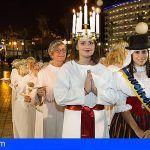 La Lucía Sueca y la Lucía Canaria celebran 54 años de tradición en Gran Canaria