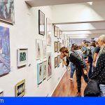 Comprar obras de los jóvenes creadores canarios para promover el arte local
