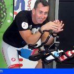 El spinner arafero Miguel Angel Castro pulverizó dos plusmarcas mundiales de spinning