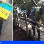 Mejoran la accesibilidad del mirador  de la Cruz del Carmen, en el Parque Rural de Anaga