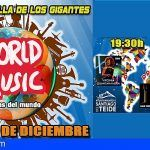 Llega a Los Gigantes el evento musical «World Music-Músicas del Mundo»