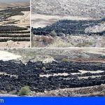 Las 7600 toneladas de neumáticos en el PIRS de Arico son un residuo no permitido