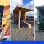 Intersindical Canaria denuncia la inseguridad de las paradas de guaguas en las autopistas de Tenerife