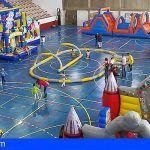 Instalan en Granadilla un parque infantil de Navidad gratuito para los más pequeños de la casa