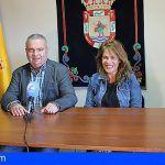 """San Miguel de Abona presenta la app """"1Taxi"""" y la nueva uniformidad del sector"""