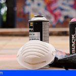 Levantan 15 actas a tres grafiteros que operaban en La Salle de Santa Cruz