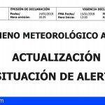 Alerta por Viento en Lanzarote, Fuerteventura y cumbres de Gran Canaria, Tenerife y La Gomera
