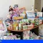Gehocan dona a San Miguel de Abona unos 3.000 euros en juguetes y alimentos