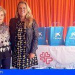 La Caixa colabora con Cáritas de Granadilla en la entrega de alimentos navideños a familias en situación de exclusión