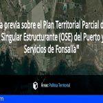 Se abre a consulta ciudadana el proyecto del Puerto de Fonsalía, en Guía de Isora