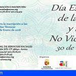 Celebración en Cabo Blanco y El Fraile del Día Escolar de la Paz y la No Violencia