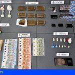 Incautados 105g de cocaína, 100g de cristal, 1.788g de hachís a un traficante en en Las Palmas