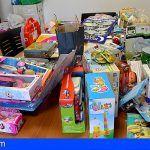 Finaliza con éxito la campaña de recogida de juguetes en Santiago del Teide