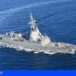 """La Fragata """"Alvaro de Bazán» (F-101) de la Armada Española, visita Las Palmas"""