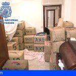 Intervienen 3000 kilos de hachís y detiene a 4 narcotraficantes en la Línea de la Concepción (Cádiz)