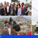 Bienvenida a las Fiestas de Arona con una ceremonia en el sitio histórico de la Cruz de San Antonio