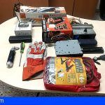 Detenido en Santa Cruz por robar en cinco vehículos