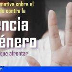 """Guía de Isora organiza las """"I Jornadas del Pacto de Estado contra la Violencia de Género"""""""