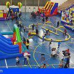 Alrededor de 1.500 menores se dieron cita en el Parque Infantil de Navidad de Granadilla