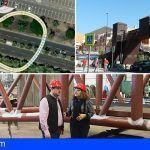 Avanza a buen ritmo la construcción de la nueva pasarela peatonal y accesible de Los Cristianos