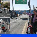 Arona busca una solución integral a la movilidad en el Puerto de Los Cristianos