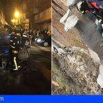 Bomberos rescatan a un senderista en Adeje y extinguen incendio en vehículo en El Fraile