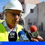 Comienzan las obras en la vía de acceso al nuevo centro sociosanitario de La Gomera