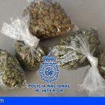 Detenido en Adeje con 177 gramos de cogollos de marihuana valorada en 1.000 Euros