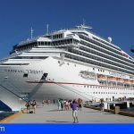 Puertos Canarios aprobó hoy la modificación de las tasas para la actividad de cruceros