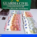 Dos detenidos en La Palma con más de medio kilo de hachís en su vehículo