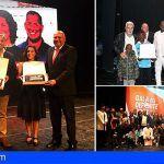 Cristina Ibáñez y Alberto Moreno, proclamados mejores deportistas de Adeje de 2017