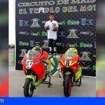 El sanmiguelero Jose Manuel Afonso García, primero en moto Mini GP 140