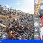 Récord en el regreso de canarias al circuito de la World Surf League realizado en Arona