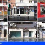 Gran cantidad de locales cerrados en la Avenida de Suecia en Los Cristianos