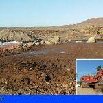 En Amarilla Golf se están ejecutando unas obras que afectan directamente a una mareta natural