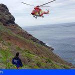 Rescatan a un senderista fallecido en Punta del Hidalgo, La Laguna