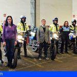 La Policía Local de Santa Cruz cuenta desde hoy con nueve motocicletas más