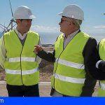 El parque eólico Tagoro Risco Blanco en Arico tiene capacidad para abastecer a 14.500 hogares