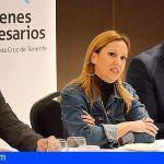 La Consejera de Hacienda informa a los Jóvenes Empresarios de Tenerife sobre las medidas del REF