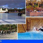 """""""Surf Exhibition"""" de la World Surf League en la Piscina de Olas de Siam Park"""