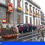 El teniente general Carlos Palacios Zaforteza, toma posesión del Mando de Canarias