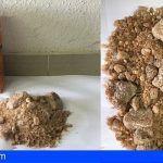 Transportaban casi un kilo de «cristal» (MDMA) oculto en un paquete de cereales en Pto. de la Cruz