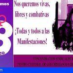 8 de Marzo, huelga feminista en Los Cristianos contra la discriminación salarial y la violencia machista