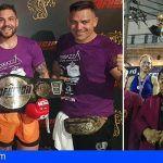 Los sanmigueleros Jonay Risco y Cathaysa Delgado, en la élite del deporte mundial