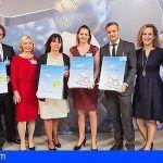 Nueve hoteles de la provincia tinerfeña reciben en Berlín su TUI Holly 2018
