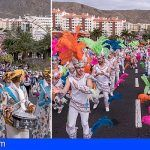 Más de 35.000 personas asistieron el Coso Apoteósico del Carnaval de Los Cristianos